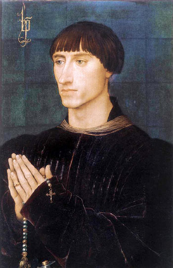 Philippe de Croy, a Burgundian nobleman painted by Rogier Van Der Weyden around 1460